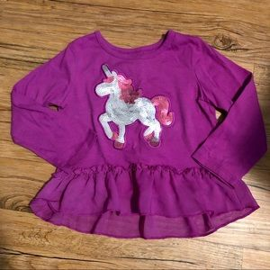 🏠4 for $15🏠Sequined Unicorn Top